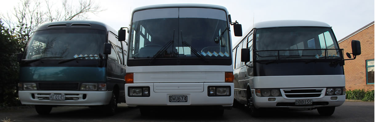 bus hire auckland